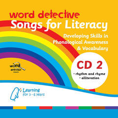 Word Detective - Songs for Literacy 2