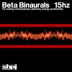 Beta Binaurals 15hz