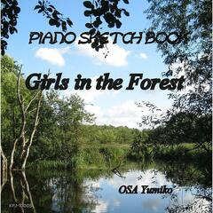 Girls in the forest-Piano Sketch Book