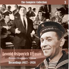 The Complete Collection / Russian Theatrical Jazz / Recordings 1937 - 1938, Vol. 3