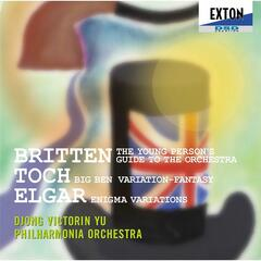 Britten:The Young Person'S Guide To The Orchestra  - Toch:Big Ben Variation - Elgar:Enigma Variations