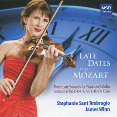 Mozart: Late Dates With Mozart - Violin Sonatas