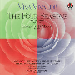 Viva Vivaldi!- The Four Seasons Op. 8, 1-4 & Gloria in D Major, RV 589