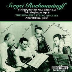 The Budapest String Quartet: Rachmaninov Recital