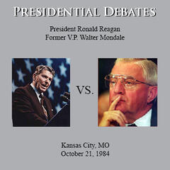 The Reagan / Mondale Presidential Debates: Kansas City, MO - 10/21/84