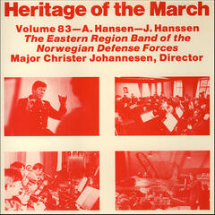Heritage of the March, Vol. 83 - The Music of Hansen and Hanssen