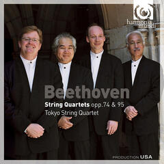 Beethoven: String Quartets Opp.74 & 95