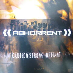 Caution: Strong Irritant