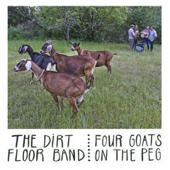 Four Goats On the Peg