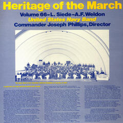 Heritage of the March, Vol. 66: The Music of Siede and Weldon