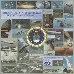 UNITED STATES AIR FORCE BAND: United States Air Force 40th Anniversary