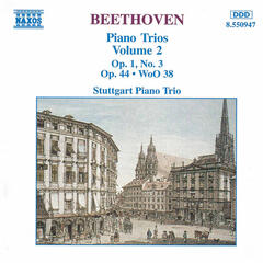 Beethoven: Piano Trio, Op. 1, No. 3 / Piano Trio in E Flat Major / Variations, Op. 44