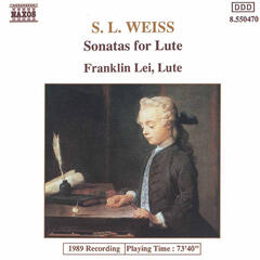 Weiss, S.L.: Lute Sonatas Nos. 12 and 39 / Lute Partita in D Minor