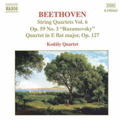 Beethoven: String Quartets Op. 59, No. 3, 'Rasumovsky' and Op. 127