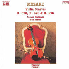Mozart: Violin Sonatas,  K. 378, K. 376 and K. 296