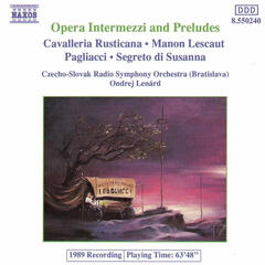 Opera Intermezzi And Preludes