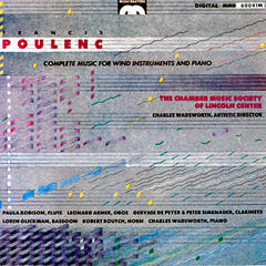 Francis Poulenc: Complete Music For Wind Instruments And Piano
