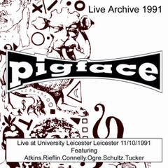 live at University Leicester Leicester  11/10/1991