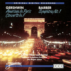 Barber:Symphony No 1, Gershwin: American In Paris Concerto In F