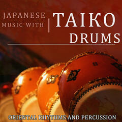 Japanese Music With Taiko Drums. Oriental Rhythms and Percussion