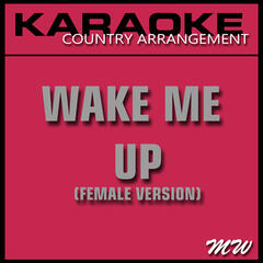 Wake Me Up (In the Style of Avicii) [Karaoke Version]