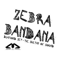 Zebra Bandana - Single