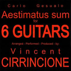 Aestimatus Sum - for 6 Guitars - Single