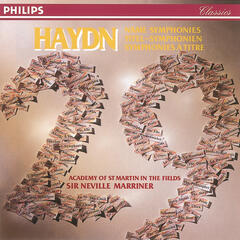 Haydn: 29 Named Symphonies