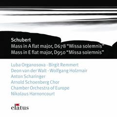Schubert : Masses No.5 in A flat major D678 & No.6 in E flat major D950