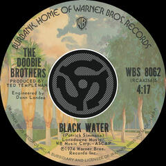 Black Water / Song To See You Through [Digital 45]
