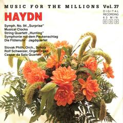 Music For The Millions Vol. 37 - Joseph Haydn