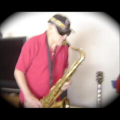 Buster Faycin With a Sax