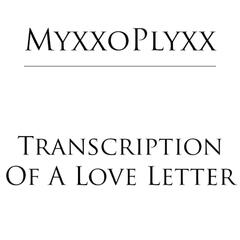 Transcription of a Love Letter