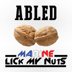 Marine Lick My Nuts