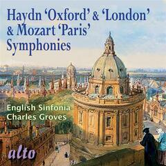 Haydn: Oxford & London Symphonies; Mozart: Paris Symphony