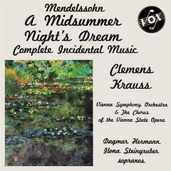 "Mendelssohn: Music for ""A Midsummer Night's Dream"""