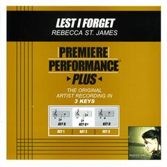 Premiere Performance Plus: Lest I Forget