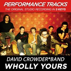 Wholly Yours (Performance Tracks) - EP