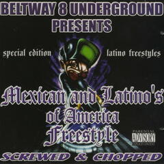 Mexican & Latino's of America (Screwed & Chopped)