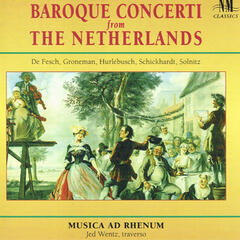 Baroque Concerti From The Netherlands