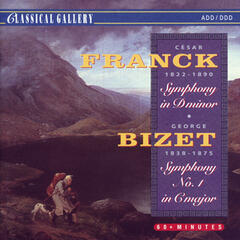 Franck: Symphony in D Minor - Bizet: Symphony No. 1 in C Major