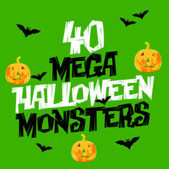 40 Mega Halloween Monsters
