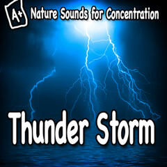 Nature Sounds for Concentration – Thunder Storm