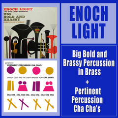 Big Bold and Brassy Percussion in Brass + Pertinent Percussion Cha Cha's
