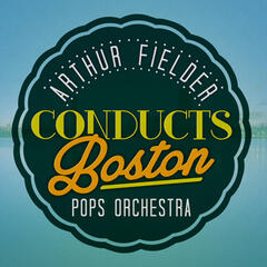 Arthur Fiedler Conducts Boston Pops Orchestra
