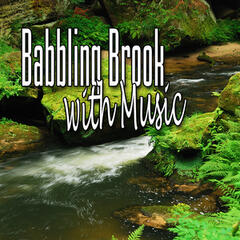 Babbling Brook with Music (Music and Nature Sound)