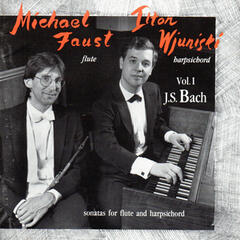 Sonatas for Flute and Harpsichord by J. S. Bach, Vol. 1