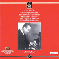 Bach: Goldberg Vatiations, 3 Inventions, 3 Sinfonias, Chromatic Fantasy and Fugue in D Minor