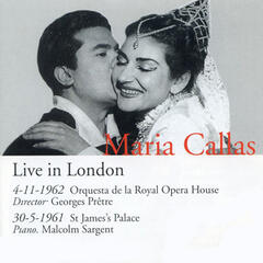 Recital, Live in London