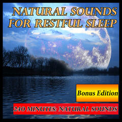 Natural Sounds for Restful Sleep: 240 Minutes Bonus Edition